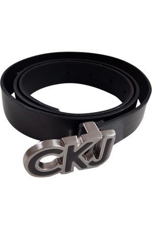 Calvin Klein Patent leather Belts