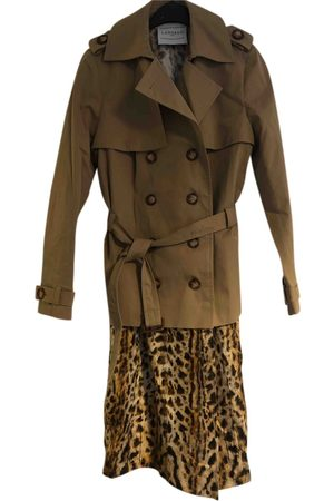 Lahssan Cotton Trench Coats