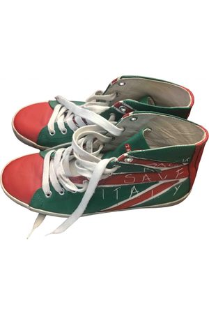 Italia Independent Leather Trainers