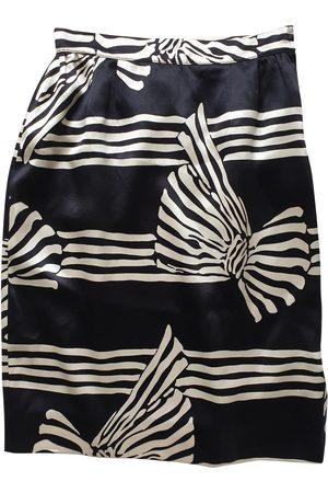 VALENTINO GARAVANI Silk mid-length skirt