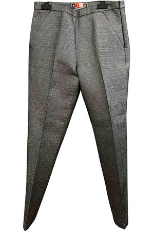 Msgm Polyester Trousers