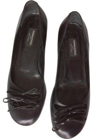 Sonia by Sonia Rykiel Leather Ballet Flats