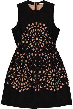 Carven Suede Dresses