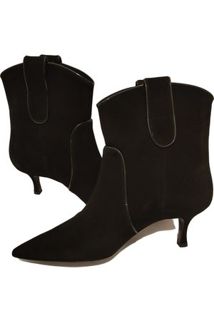 Intrend Suede Ankle Boots