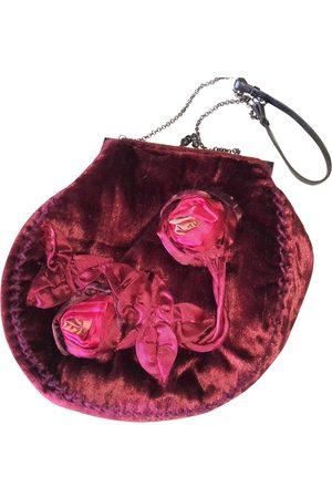 Maliparmi Velvet Clutch Bags