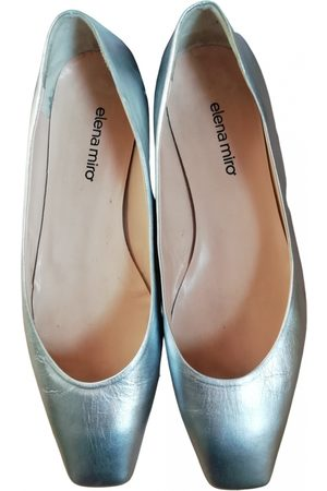 Elena Miro Leather Ballet Flats