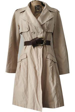 Stefanel Cotton Trench Coats
