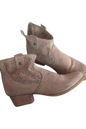 AUTRE MARQUE Leather Ankle Boots