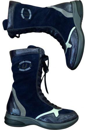 Cesare Paciotti Leather Boots