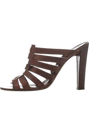 MICHEL VIVIEN Leather Heels