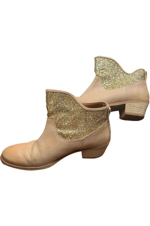 Hoss Intropia Glitter Ankle Boots