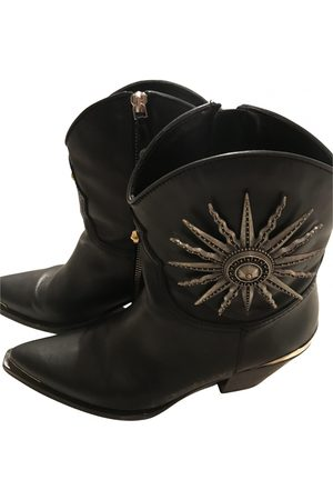 FAUSTO PUGLISI Leather Boots