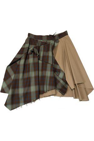 ACT N°1 Women Mini Skirts - Wool mini skirt