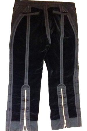 Roberto Cavalli Velvet chino pants