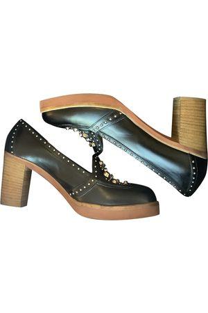 SARTORE Leather Mules & Clogs