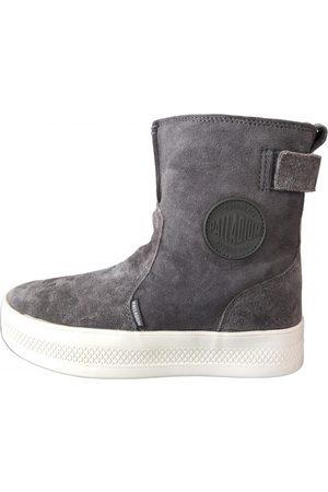 Palladium Suede Ankle Boots