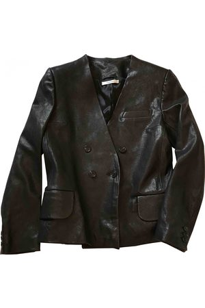 Carven Leather Jackets