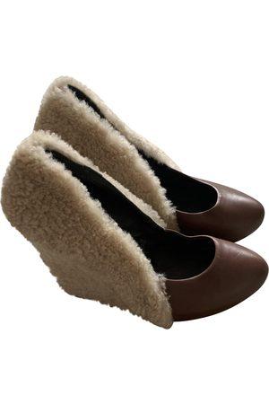 Giacomorelli Leather Heels