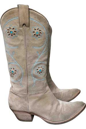 SARTORE Suede Boots