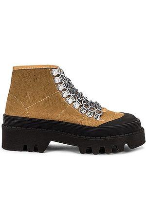 Proenza Schouler City Lug Sole Boots in Brown