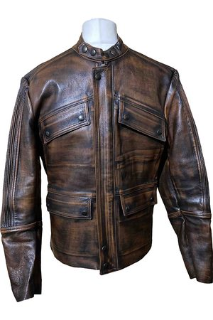 ISAAC SELLAM EXPERIENCE Leather Jackets