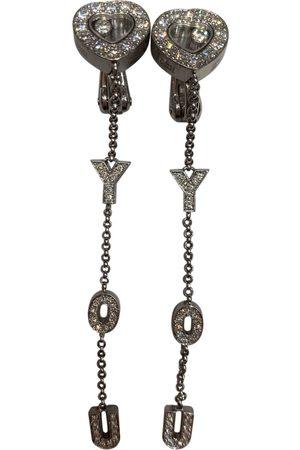 Chopard Happy Diamonds white gold earrings