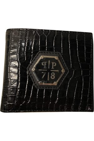 Philipp Plein Leather Small Bags\, Wallets & Cases