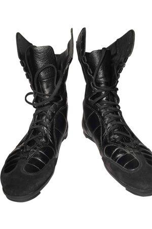 Miu Miu Leather Trainers