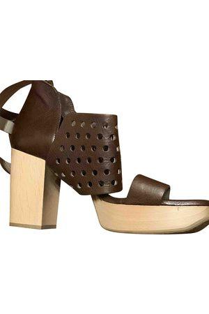 Ixos Leather Mules & Clogs