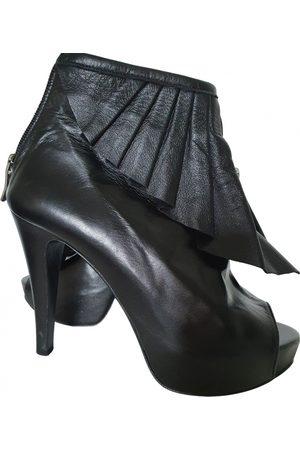 SUECOMMA BONNIE Leather Ankle Boots