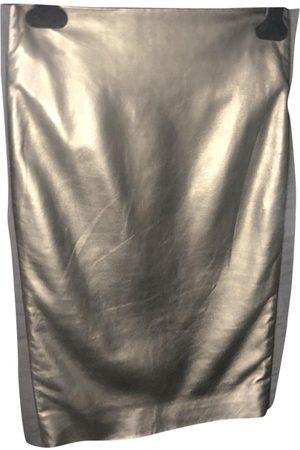 Tom Ford Leather mid-length skirt