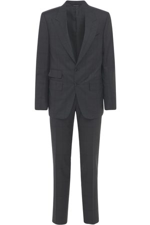 Tom Ford Wool Prince Of Wales Day Suit