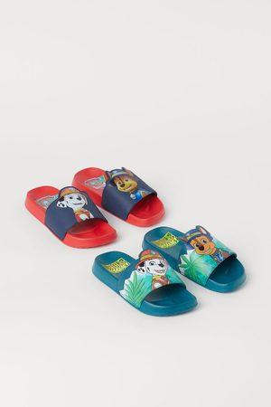 H&M Kids High Heels - 2 Pairs Printed Pool Shoes