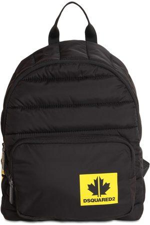 DSQUARED2 Logo Print Nylon Puffer Backpack