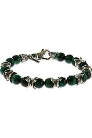 EMANUELE BICOCCHI Men Bracelets - Tiger Eye Beaded Chain Bracelet