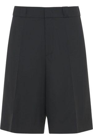 VALENTINO Wool & Mohair Shorts