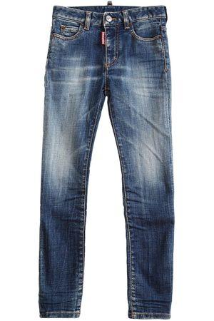 Dsquared2 Girls Stretch - Stretch Cotton Jeans