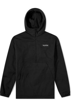 VALENTINO Men Hoodies - Patch Logo Popover Hoody