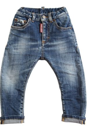 Dsquared2 Washed Stretch Cotton Jeans