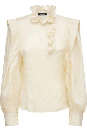 Isabel Marant Chadra Tussar Silk Blouse