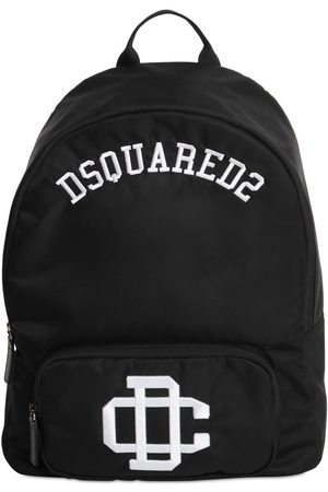 Dsquared2 Embroidered Logo Nylon Backpack