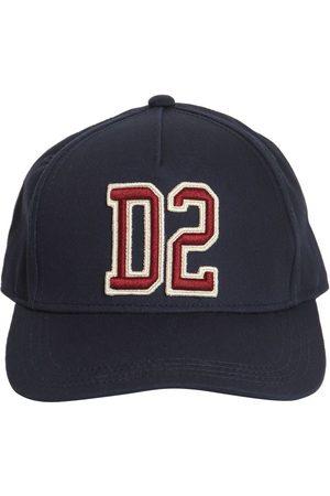 Dsquared2 Embroidered Logo Gabardine Baseball Hat
