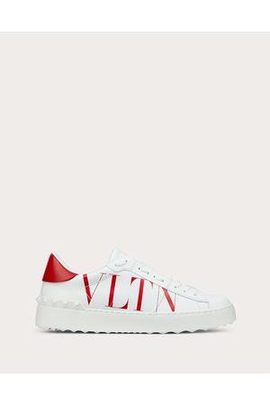 VALENTINO GARAVANI Women Sneakers - Vltn Open Sneaker In Calfskin Leather Women /pure 100% Pelle Di Vitello - Bos Taurus 35