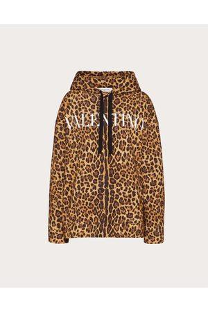 VALENTINO Women Sweatshirts - Printed Jersey Sweatshirt Women Animal Print Cotton 100% L