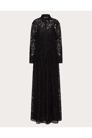 VALENTINO Women Evening dresses - Heavy Lace Evening Dress Women Cotton 34%, Viscose 43% 36