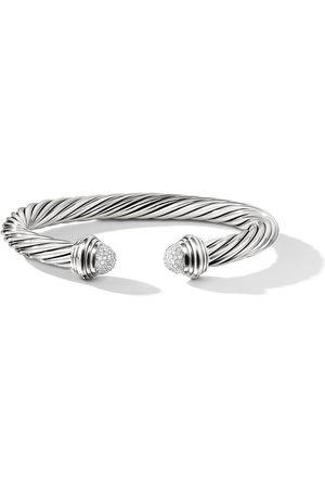 David Yurman Women Bracelets - Sterling Cable diamond cuff