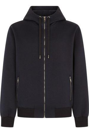 Dolce & Gabbana Men Hoodies - Zip-fastening drawstring hoodie