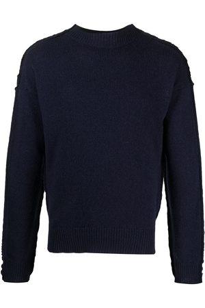 Marni Stripe-detail crew-neck jumper