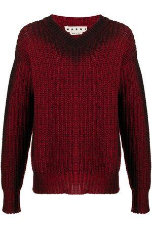 Marni Chunky-knit V-neck jumper