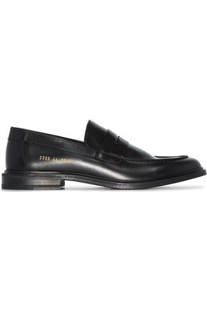 COMMON PROJECTS Men Loafers - Penny-slot leather loafers
